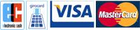 Wir akzeptieren EC/girocard, Visa, MasterCard